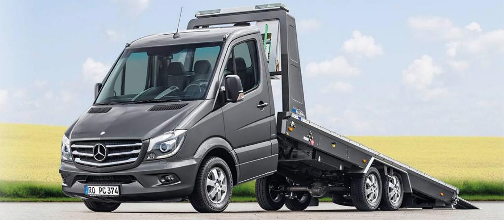 Mercedes Blizlader Car Transporter