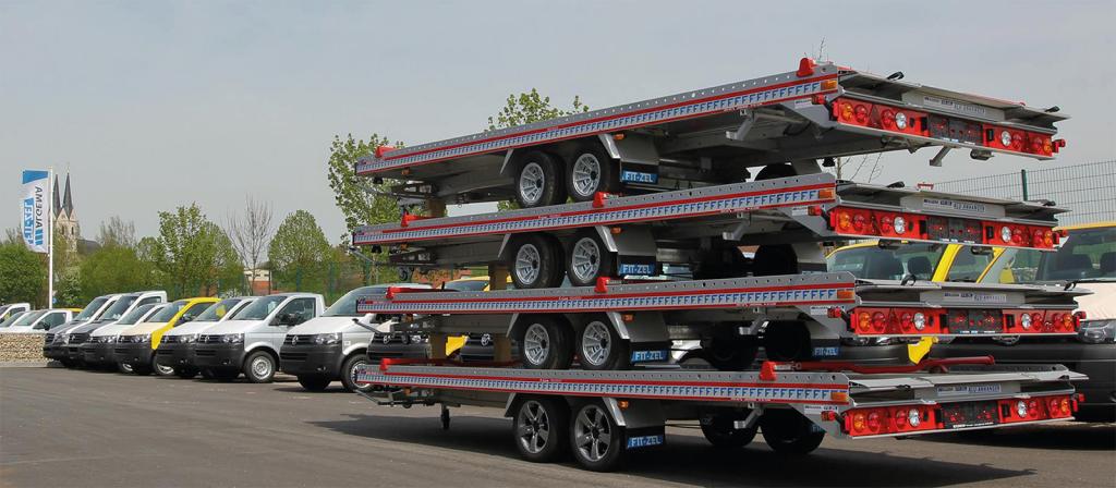 FITZEL Trailers UK Wabtec Developments Car Transporter