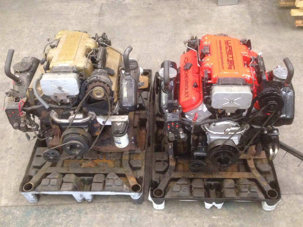 chevy boat engines