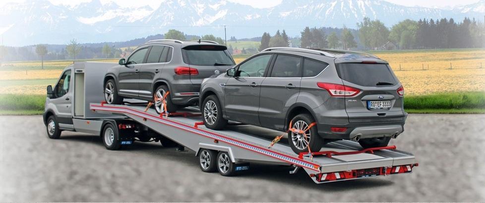 BE Trans 5th Wheel Car Transporter Trailer